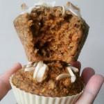 Torta od mrkve u obliku muffina